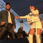 Kendrick Lamar & Rihanna at TDE 4th Annual Concert