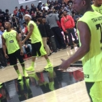 Mayweather At Mayweather X Watson Celeb Game