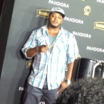 Music Executive Darnell Hodges Pandora Grammy Party