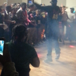Torion Wearing Fly As Me Hoodie While Performing At Park District